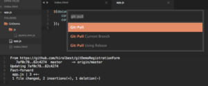 Git Pull in Sublime Text