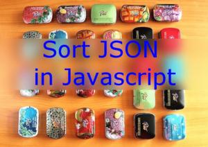 Sort JSON in Javascript